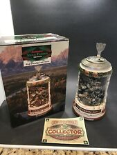 1999 Budweiser Animal Families Series Wolf Family Lair Stein with Original Box
