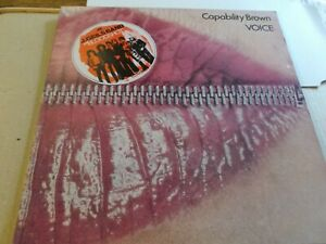 CAPABILITY BROWN,VOICE,LP ON CHARISMA CAS 1068,1973