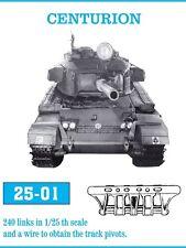 Friulmodel ATL-2501 1/25 British Tank Centurion Metal Tracks (240 links)