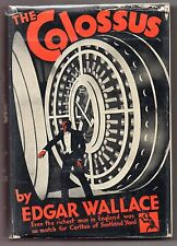 COLOSSUS 1932 Edgar Wallace CRIME CLUB HARDBACK