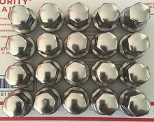 NTO GM CAR stainless Exposed 12x1.5mm Lug nuts For Aluminum Wheels X 20 Nice Wow