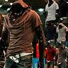 Hot Fashion Men Hooded T-shirt Korean Casual Hoodie Shirts Short Sleeve Cap Top