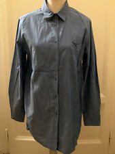 Camicia lunga celeste MAX&CO clear blue long shirt IT44 EU40 UK12