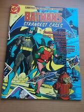 DC: LIMITED COLLECTOR'S ED., TREASURY BATMAN'S STRANGEST CASES, C-59, 1978, NM-!