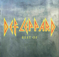 Def Leppard ‎The Best Of 17 Track CD Greatest Hits Singles Collection Very