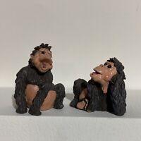 Holy Herd Noahs Ark Apes Gordo Gouda Couple Pete Apsit Art Figures Monkeys Set