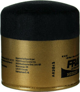 Engine Oil Filter-DOHC, FI, 16 Valves Fram XG9688