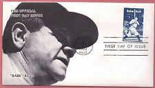 2046 Babe Ruth 1983 First Day Cover EX A CAL Cachet Unadd FDC NY Yankee  LOT 745