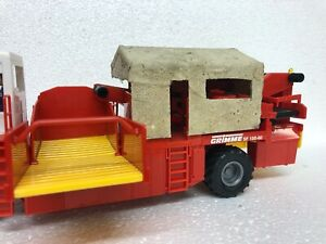 Scratch built canopy to suit Siku Grimme potato harvester.