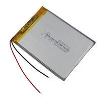 3.7V 3000 mAh Polymer Li ion battery Lipo pack 505573 For GPS DVD ipod Tablet PC
