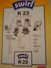 Staubsaugerbeutel Swirl R23  für Multicraft Universal-Modelle/alle 19-l-Geräte