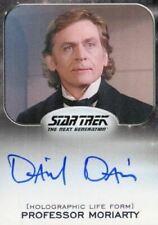 Star Trek Aliens Daniel Davis as Professor Moriarty Autograph Card