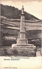 Transylvania 1900s Preszáka Zlatna area,Memorial of victims of 1848 year,v.rare