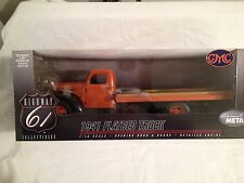 Highway 61 1941 GMC Flatbed Truck (1:16 Scale)   Orange/Black