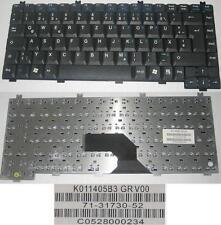 Clavier Qwertz Allemand AMILO L7300 V2010 K011405B3 GR 71-31730-52 Noir