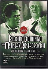 Placido Domingo and Mstislav Rostropovich (DVD, 2004) WORLD SHIP AVAIL!