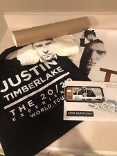 Justin Timberlake T-Shirt 20/20 Experience World Tour Vip Gift Bag