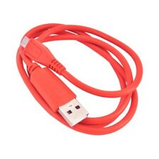 1 Metre Long Red Coloured Fast Charging USB Cable For LG Smart Phones