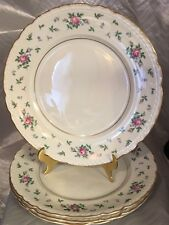 "Princess-Empcraft China Sweet Briar 6 1/4""  Bread Plates; Lot of 4 EXCELLENT!!!"
