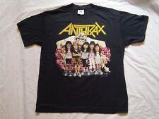 Anthrax T-shirt State of Euphoria Vintage 1988 Tee jays Large 1988 Brockum used