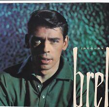 PHOTOGRAPHIE ORIGINALE sur encart cartonné du chanteur Jacques Brel Philips