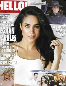 Hello Magazine Meghan Markle Kate Middleton Ronan and Storm Keating Laura Wright