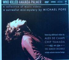 AMANDA PALMER Who Killed Amanda Palmer DVD. USA IMPORT. FREE POST!!