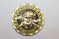 Heads We Win Tales You Lose Challenge Coin Skull