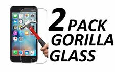2x NEW 2.5 9H HARD BALLISTIC TEMPERED GORILLA GLASS FOR APPLE IPHONE 6/6S PLUS