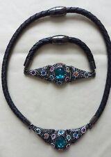 Butler & Wilson Flower Necklace and Bracelet Set