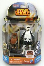 Star Wars Rebels Mission Series MS10 Wicket & Biker Scout Trooper