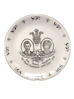 """9 3/4"""" The Royal Wedding 29th July 1981 Collector Plate Myott Meakin England"""