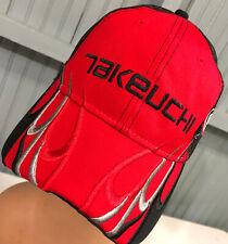 New ListingTakeuchi Manufacturing Equipment Central Illinois Adjustable Baseball Cap Hat