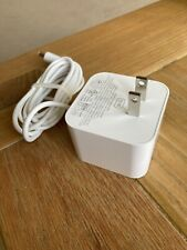 Amazon Dot power adapter for US. Charging Cable