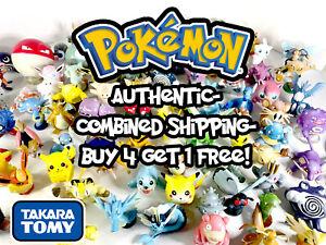 Pokemon - TOMY Figures - Burger King, T-Arts - Authentic - Buy4Get1Free!