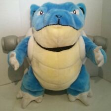 "Nintendo Pokemon 20"" Blastoise Plush Blue Turtle Play By Vintage Squirtle Large"