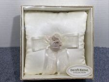 David's Bridal Collection Ring Pillow Ven Style Rum/Ivory
