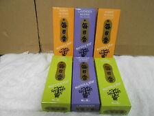 6 boxes Japan morning star incense 1200 sticks fragrance scent amber lavender