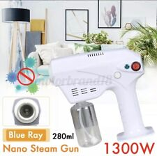 Pro Nano Blue Light Steam Spray Disinfection Sprayer Gun 260ML 1300W US/EU
