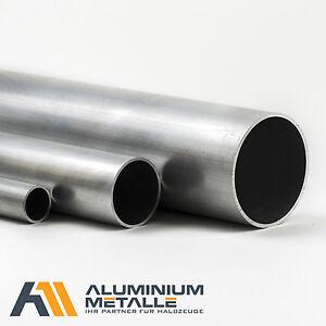 Aluminium Rohr Alu AlMgSi05 diverse Abmessungen Rundrohr Profil AW-6060 Alurohr