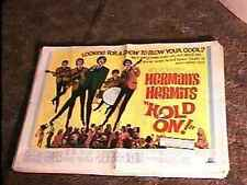 HOLD ON  22X28 MOVIE POSTER '66 HERMANS HERMITS