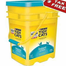 Purina Tidy Cat Clumping Litter Instant Action Multiple Cats 35 lb Natural Food