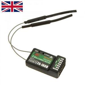 FLYSKY iA6B FS-iA6B AFHDS 2.4G 6CH Receiver For FLYSKY FS-i10 i6 RC Transmitter