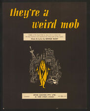 1959 ~They're a Weird Mob ~Australian Sheet Music