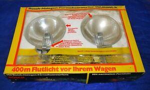 *Neu* 2 Zusatzscheinwerfer Bosch Halogen 160 mm H3 Flutlicht Rallye 0306601903