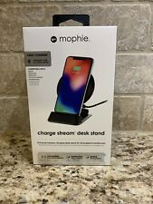 Mophie Universal Wireless Charge Stream Desk Stand Qi Enabled Apple Samsung