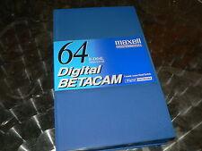 MAXELL Digital Betacam B-D64L 1 Stück Professional Videotape Large NEU