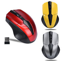 2.4GHz Wireless Optical Gaming Mouse Mice USB Receiver For PC Computer Laptop