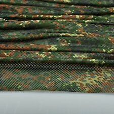 "2-YARDS Germany Freckle Camouflage Net Army Military 60""W Mesh Fabric Cloth"