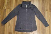 Men's Champion Charcoal Gray Full Zip Thermal Jacket Size XL